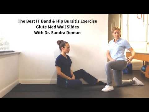 The Best Exercise for IT Band & Hip Bursitis Pain.  Dr. Sandra Doman Chiropractor Aventura