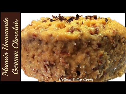 CVC's German Chocolate Cake Recipe from Scratch How to mix, prepare icing and Ice the cake!
