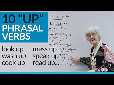 Learn 10 English PHRASAL VERBS with