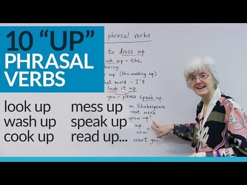 Learn 10 English PHRASAL VERBS with