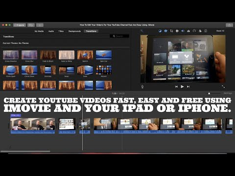Imovie Basics | How To Create YouTube Videos Fast, Easy Using IMovie |Pro Video Editing on your iPad