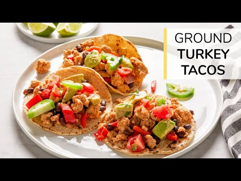 Turkey and Black Bean Taco | Clean & Delicious