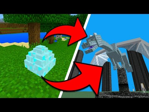 How To Hatch the Aether Dragon Egg in Minecraft Pocket Edition (Aether Addon)