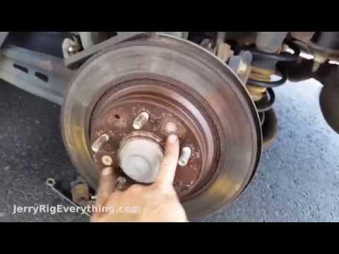 Mazda 6 Brake Pad and Rotor Replacement, Easy Repair!
