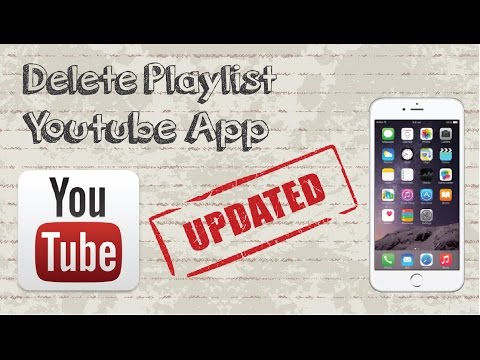 How to delete playlist on Youtube Mobile App - Updated Video