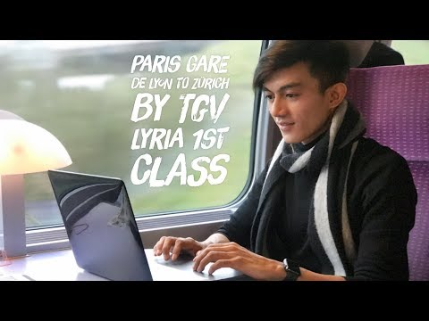 Paris Gare de Lyon to Zurich Switzerlands by TGV Lyria 1st Class with GoEuro Mobile Apps