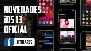 iOS 13 OFICIAL ¡Ya disponible! Todas las NOVEDADES