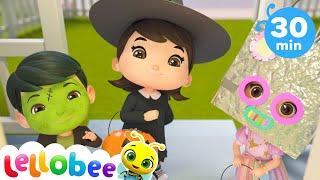 Yes Yes! Halloween Trick or Treat  @Lellobee City Farm - Cartoons \u0026 Kids Songs   Preschool Education