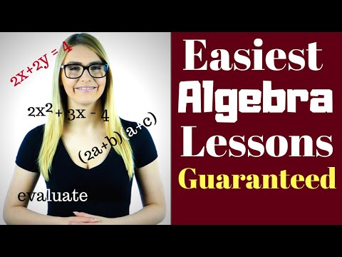 Algebra 1 Lessons for Beginners -  5 important Lessons  - Get Our Special  Offer TODAY