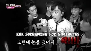 Knk Screaming For 5 Minutes