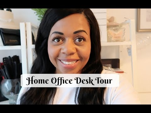 Home Office Desk Tour