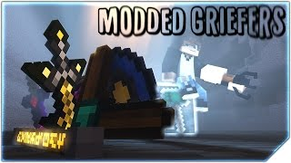 """Minecraft Song ♪ """"Modded Griefers"""" Animation Music Video (Re-upload)"""