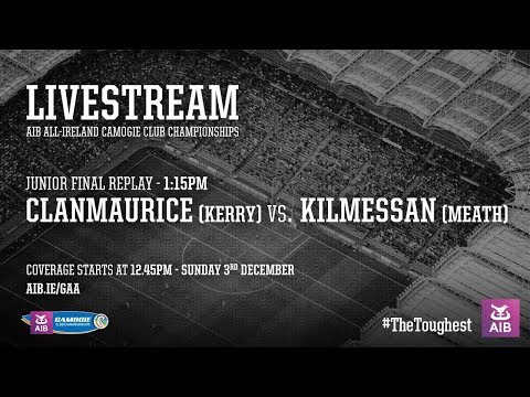 AIB All-Ireland Camogie Club Championship Final Replay - LIVESTREAM