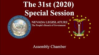 31st (2020) Special Session - Assembly Chamber 07/09/2020