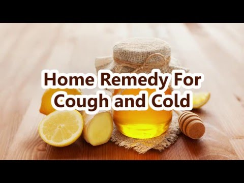 DIY Home Remedy For Cough and Cold