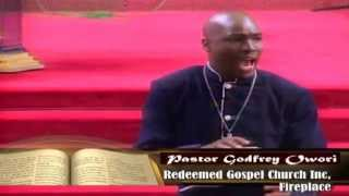 """"""" Fire drives the price of gold higher """" By Pastor Godfrey Owori"""