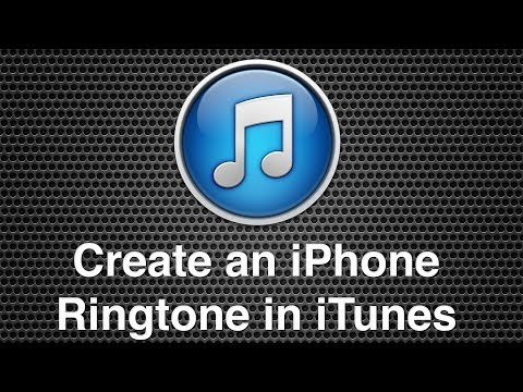 Create an iPhone Ringtone Within iTunes