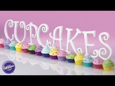 Wilton Cupcake Decorating Designs: 5 Easy Buttercream Designs