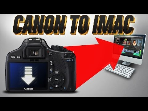 Import Canon T2i/T3/550d Video to Mac   Fast & EZ
