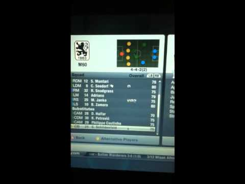 FIFA 12 ~ manager mode ~1860 München Team