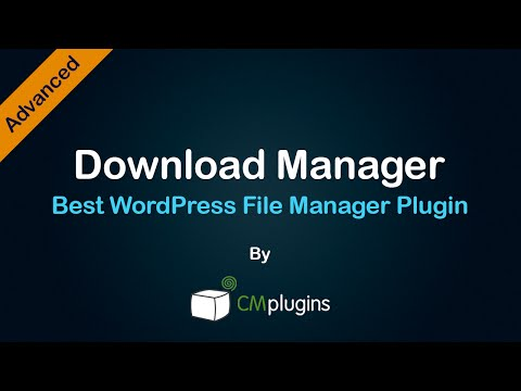 Tutorial showing how to manage, track, organize download files using a WordPress Plugin