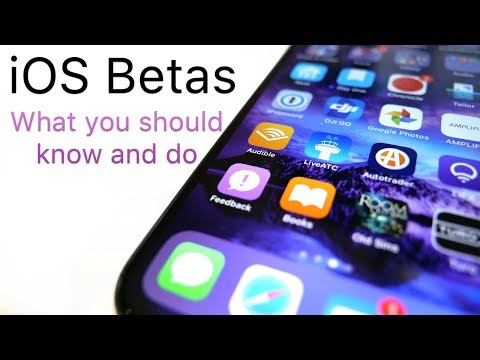 iOS Betas - What You Should Know and Do