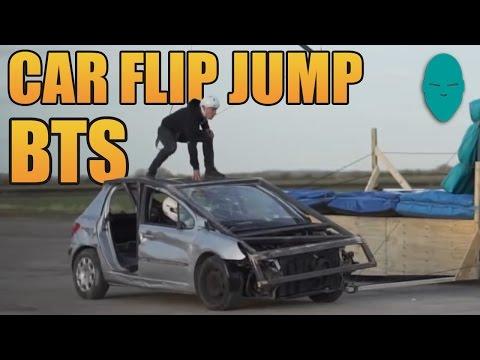 Car Flip Transfer Behind The Scenes | Damien Walters