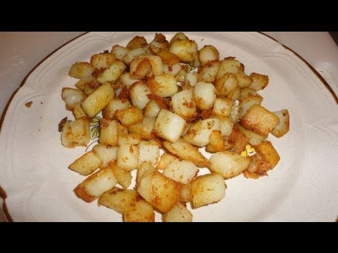 Simple One Step Home Fries