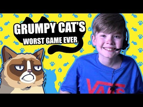 GRUMPY CAT'S WORST GAME EVER!!!