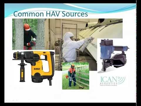 Webinar Occupational Noise, Hand Arm Vibration HAV and Whole Body Vibration WBV