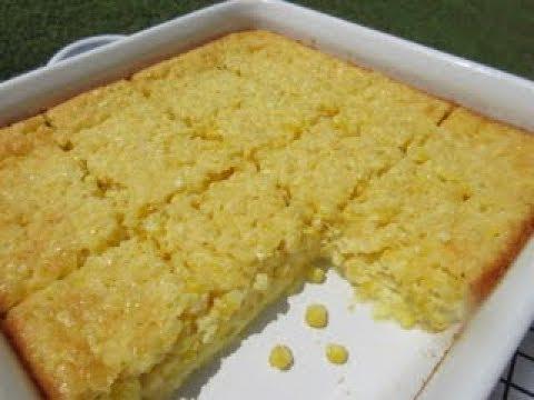 Sweet CORN PUDDING | How to make CORN PUDDING Recipe