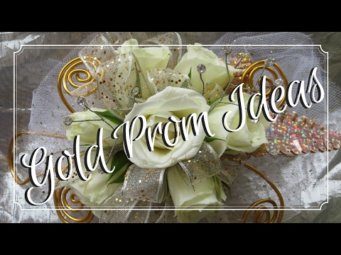 Top Gold Prom Flowers to Match Your Dress | Corsages