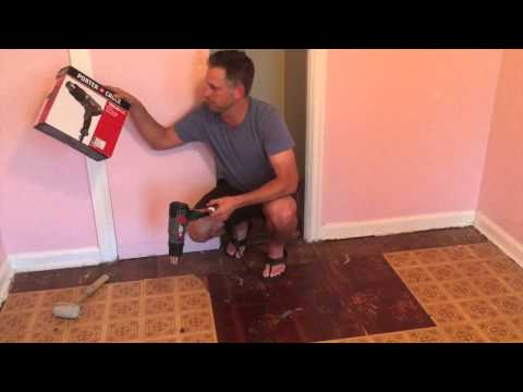 Best Way to Remove Sticky Floor Tiles