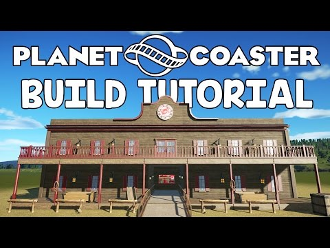 Planet Coaster Building Crash Course! - Planet Coaster Build Tutorial