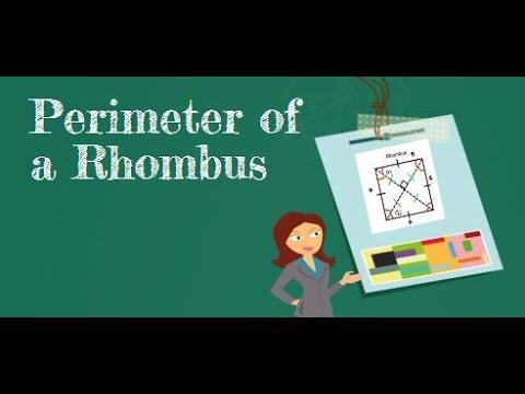 Perimeter of a Rhombus-MooMooMath