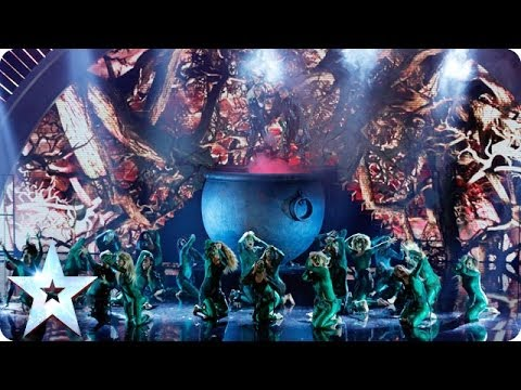 The Addict Initiative battle it out | Britain's Got Talent 2014 Final