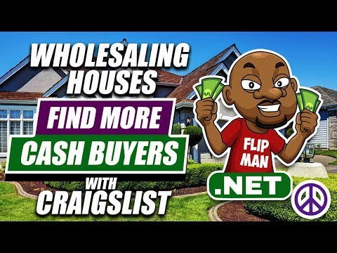 Wholesaling Houses with CraigsList | How To Build Your Cash Buyers List With CraigsList Ads