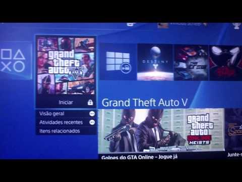 Tutorial: Como remover cadeado nos jogos de PS4!