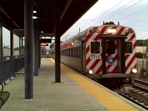 Amtrak Acela Express & Shoreline East At Clinton, CT- 7/25/16