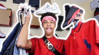 $1,300 Back To School Clothing Haul 🔥| (Yeezy, Jordan, Ferragamo, Polo & Tommy)