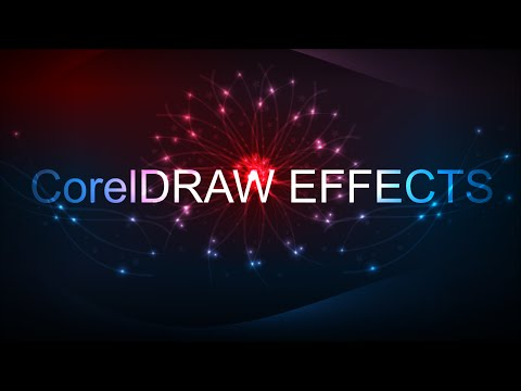 CorelDraw - How To Make a Background Light Effects In Corel Draw