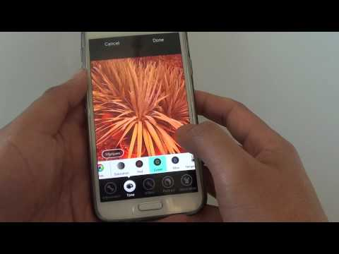 Samsung Galaxy S5: How to Change R G B and Hue Color of a Picture