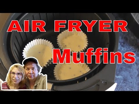 Air Fryer - Blueberry MUFFINS - What?!?