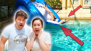 QUARANTINE POOL PARTY!! WE PLAY TRUTH OR DARE!