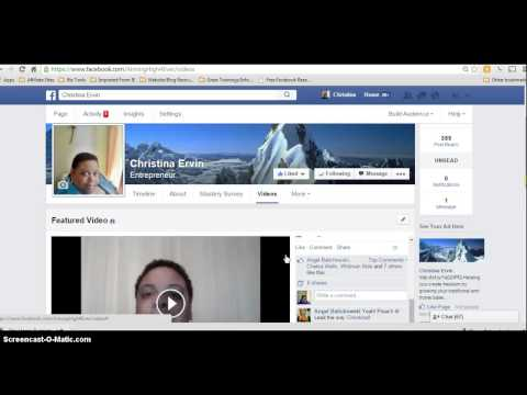 Facebook Fan Page - Increase Activity With YouTube Strategy