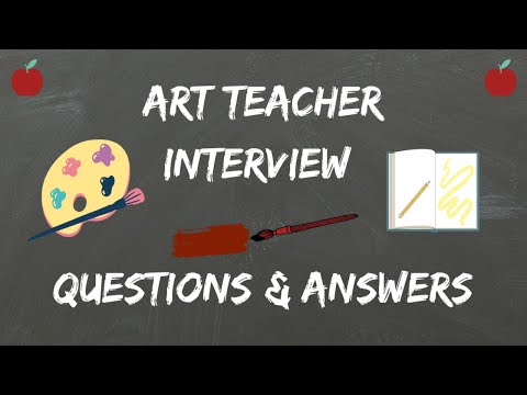 Art Teacher Interview Questions & Answers