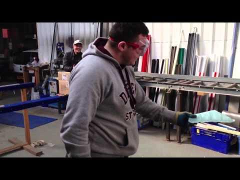 Cutting Toughened Glass