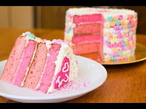 Valentines Day Cake Tutorial!