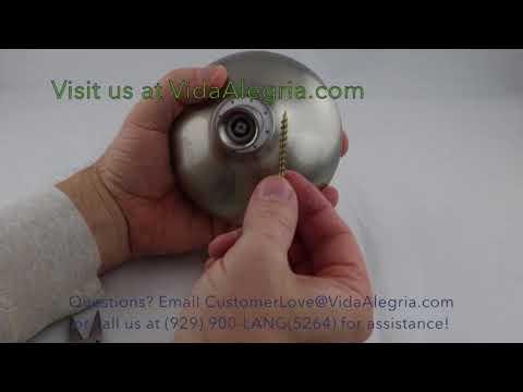 Vida Aelgria 5 Plus shower head Flow Restrictor removal