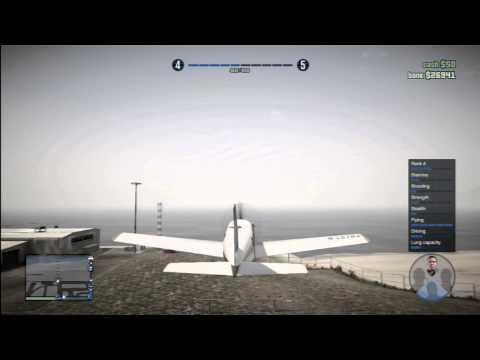 GTA Online - Easiest/quickest 100 flight skill
